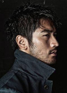 "godfreygdaily: ""Godfrey Gao for Elle Men "" Godfrey Gao, Male Figure, Creative Portraits, Male Face, Asian Men, Bearded Men, Foto E Video, Character Inspiration, Beautiful Men"