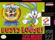 Tiny Toon Adventures: Buster Busts Loose. Hands down my fave game on this system.