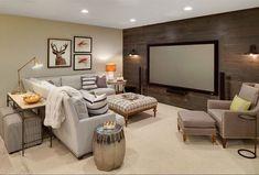 Image result for basement tv retreat