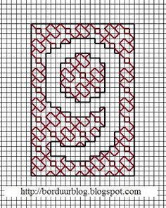 Borduurblog: Freebies blackwork