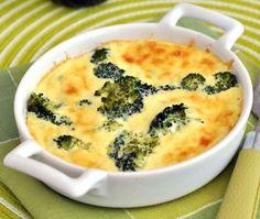 low carb broccoli pie.  4g carbs.