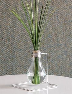 repurposed bulb and wire-love it