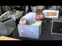Wim de Vos discusses his tunnel books.mov - YouTube (alternate for the layered landscape)