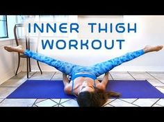 Slim Legs & Inner Thighs Workout for Beginners, 20 Minute At Home Fitness , Thigh Gap Tone Up. >> Check out more at the image link(Fitness For Beginners At Home) Tone It Up, Sculpter Son Corps, Thinner Thighs, Slim Thighs, Smaller Thighs, Get Skinny Legs, Outer Thighs, Sup Yoga, Lower Abs