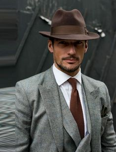 Wool fedora | mens wool hat Mens Fashion | #MichaelLouis - www.MichaelLouis.com #MensFashionWork