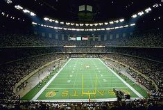 Superdome New Orleans - I really love this place.