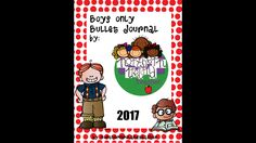 Bullet Journal Planner 2017 for boys only - no pink!  Age 3-9 years. by Teachnorthernireland on Etsy https://www.etsy.com/uk/listing/500832437/bullet-journal-planner-2017-for-boys