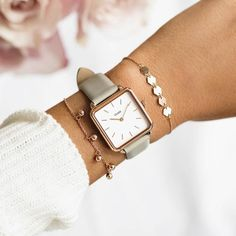 Mesh Armband, Shops, Square Watch, Color Combinations, Favorite Color, Jewelry Watches, Rose Gold, Grey, Accessories