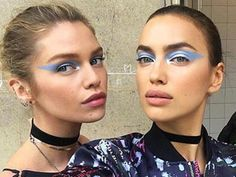 The Fall Couture Runways Are Full of Major Eye Makeup