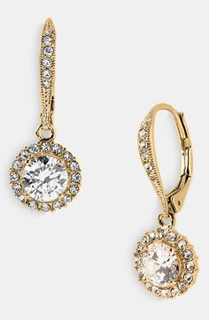 Nadri Cubic Zirconia Drop Earrings available at #Nordstrom