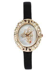 Vivienne-Westwood-Rococo-Black-Strap-Watch.jpg (870×1110)