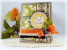 Trick or Treat card by Andrea Ewen