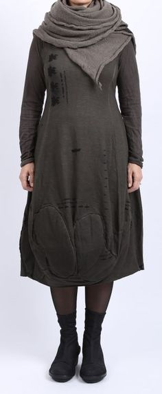rundholz black label - Longshirt Paddington Langarm Cotton beluga - Winter 2016