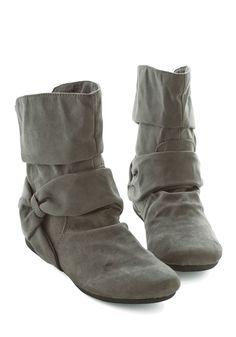 Agent Ninety-Fine Boot in Grey, #ModCloth