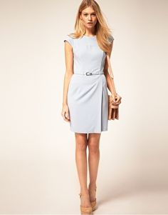 Enlarge ASOS PETITE Exclusive Wrap Dress With Belt