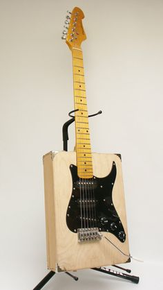 Artist's Box Guitar by Marc Potter $275