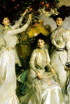 John Singer Sargent, The Ladies Alexandra, Mary and Theo Acheson