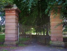 AR Allerton Hall north Gates by brigster@hotmail.co.uk, via Flickr