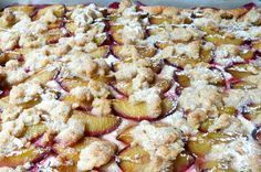 Ein Kuchen, den wirklich JEDER nachbacken kann. Ein einfacher Quark-Öl Teig trifft auf selbstgepflückte Pflaumen und braune Streusel. Ich persönlich finde di