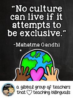 Teacher Quote: Culture & Diversity