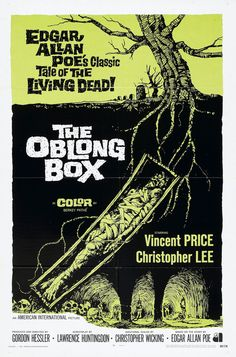 """""""the Oblong Box"""" Vincent Price #HalloweenClassics #Horror"""