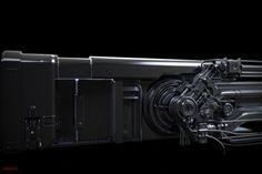 ArtStation - Sci Fi Door Concept , Tim Diaz