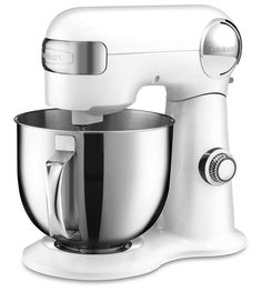 Cuisinart SM-50 5.5 Quart Stand Mixer Review & Giveaway ~ http://steamykitchen.com