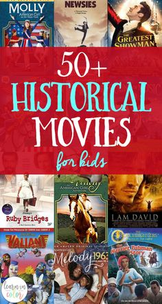 historical movies for kids, teach history and homeschool history with these fun movies for kids! History Historical Movies for Kids History Lessons For Kids, History Activities, Teaching History, American History Lessons, Preschool Activities, Kid Movies, Family Movies, Movies For Kids, Watch Movies