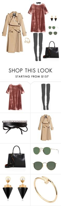 """""""HOLIDAYS"""" by ruhan-victor ❤ liked on Polyvore featuring Toast, Balmain, Fallon, Burberry, Prada, Ray-Ban, Vita Fede and Cartier"""