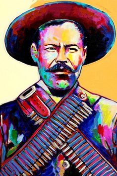 Pancho Villa Pop Art Poster 24 x 36 – PosterAmerica Pancho Villa, Pop Art Posters, Poster Prints, Mexican Artwork, Mexican Paintings, Mexican Interior Design, Mexican Revolution, Mexico Art, Kunst Poster