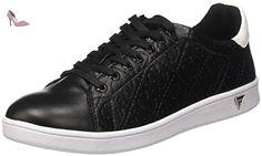 Guess Super, Sneakers Basses Femme, Noir (Nero), 35 EU - Chaussures guess (*Partner-Link)