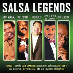 Salsa Legends: Salsa Legends is a 2 Volume compillation gathering up some of the most notable Salsa Performers in one album. The album features 16 tracks including Salsa Legends Andie Montañez, Cheo Feliciano, Oscad D' Leon and many more. Salsa, Latin Music, Universal Music Group, Music Games, Various Artists, Digital Media, Live Music, Brand Names, Blues