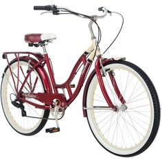 "Schwinn Point Beach 26"" Ladies' Cruiser Bike - I would really like to have a bike and this one is my favorite  $188.00 #therafitgives  #Therafit"