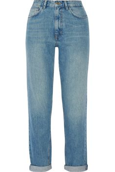 M.I.H JEANS Linda High-Rise Boyfriend Jeans. #m.i.hjeans #cloth #jeans