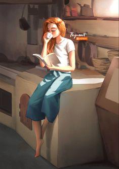 Cartoon Girl Images, Cute Cartoon Girl, Cartoon Girl Drawing, Cartoon Art Styles, Cartoon Cartoon, Cartoon Drawings, Cartoon Characters, Art And Illustration, Girly Drawings