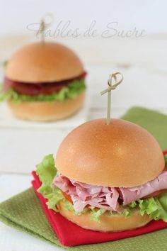 Sandwich o panini soffici con pasta madre