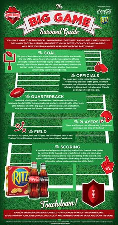 Before you host a Home Bowl party, check out this simple, easy-to-understand Survival Guide that details everything you need to know about how to be a pro football fan. We've teamed up with Coca-Cola® to help you become the MVP during one of the year's most popular sporting events.