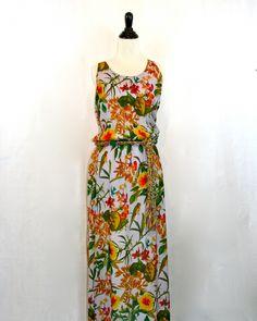 Corey Lynn Calter Flower Maxi Dress by Violet Clover