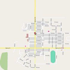 RIMBEY MAP EDMONTON