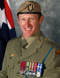 mark Donaldson is a Australian soldier serving with the Australian SASR he was is Afghanistan coming under fire by Taliban while protecting other troops and then to rescue a interpreter under heavy fire. he recued the interpreter and received the Victoria cross 2nd April 1979 age 35
