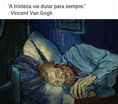 Omg knowing that Vincent van Gogh was psychically ill, seeing this makes me rlly sad. But the idea and the final look is amazing Vincent Van Gogh, Van Gogh Arte, Van Gogh Quotes, 7 Arts, Van Gogh Paintings, Yellow Painting, Renaissance Art, Aesthetic Art, Painting Inspiration