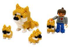 Kawada ml 032 Nanoblock Welcome Home I Love Dog | eBay