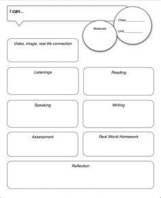 lesson planning for FL teachers