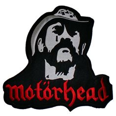 c35524480c9 MOTORHEAD RIP Lemmy Big Iron On Sew On Embroidered Back Patch