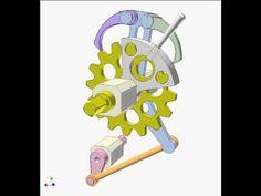 Ratchet mechanism 21 - YouTube