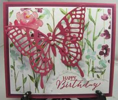 stampin up butterflies thinlits - Google Search