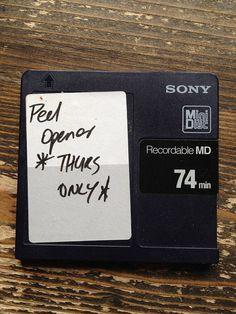 Minidisk by JohnPeelArchive, via Flickr John Peel, Cards Against Humanity, Mini, Sleeves, Cap Sleeves