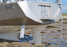 Rudder And Daggerboard Combination On Boreal Expedition Sailboat Cool Boats, Small Boats, Yacht Design, Boat Design, E Boat, Expedition Yachts, Sailing Holidays, Build Your Own Boat, Boat Kits