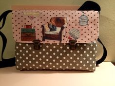 Customizable whims, medium bag - hand made by  Carlalluna en DaWanda