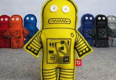 Bloofbird Plush Robots Are Ma...